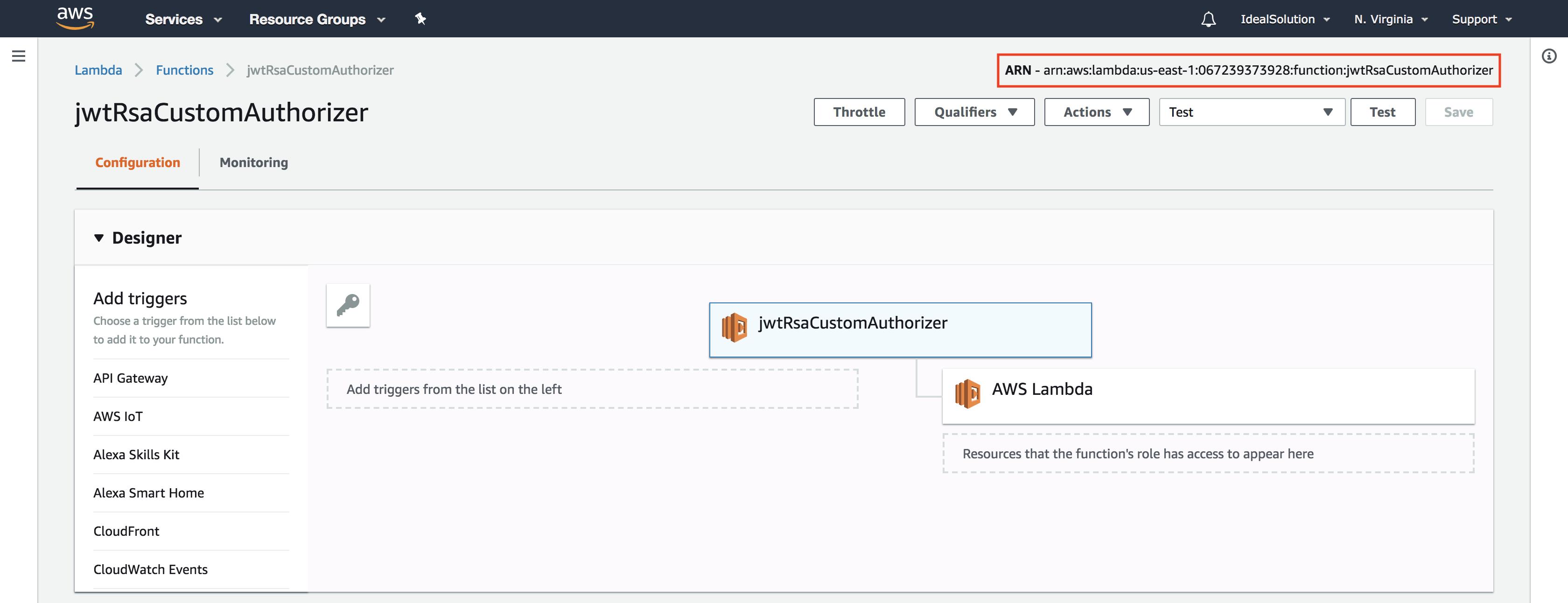 Microservices API's with serverless framework, AWS Lambda, API